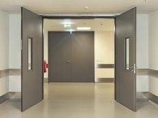 Алюминиевые противопожарные двери