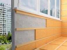 Утепление и отделка балкона
